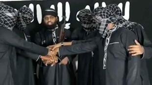 زهران هاشم في الفيديو الذي بثه تنظيم الدولة الإسلامية