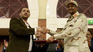 الاتفاق بين الجيش والحراك السوداني