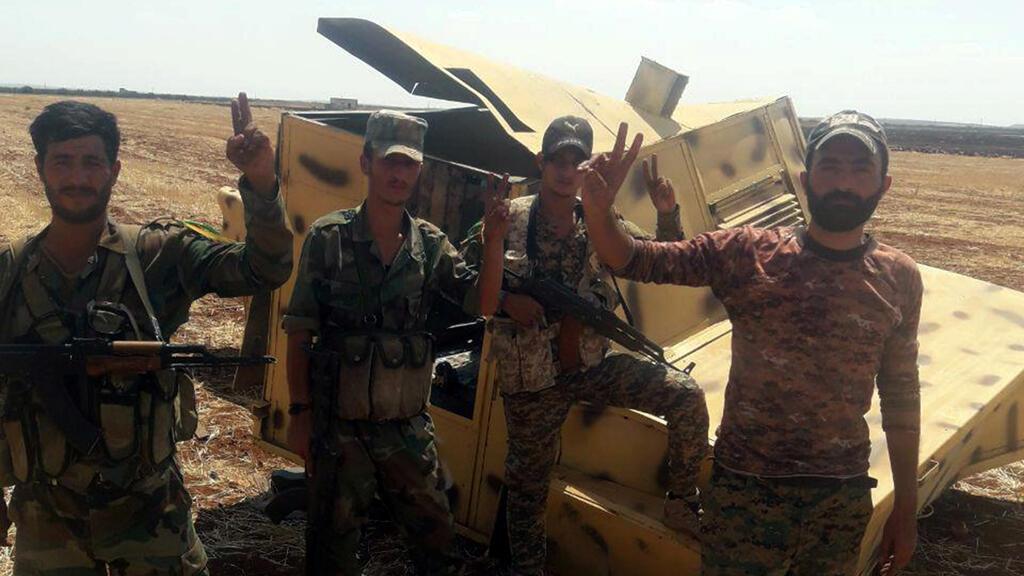 عناصر من قوات النظام السوري