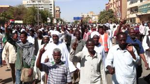 احتفال السودان بمرور عام على الثورة