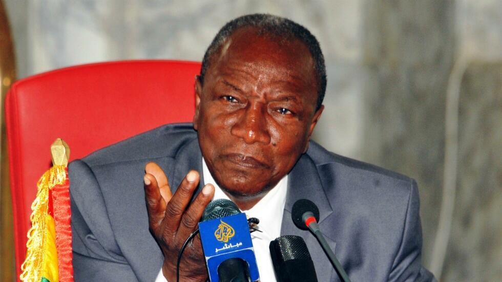الرئيس الغيني ألفا كوندي