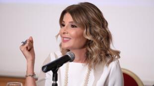 الإعلامية اللبنانية داليا داغر