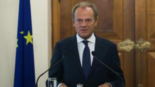 رئيس المجلس الأوروبي دونالد توسك-