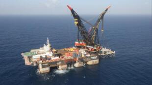 حقل غاز لوثيان قبالة سواحل إسرائيل في البحر المتوسط