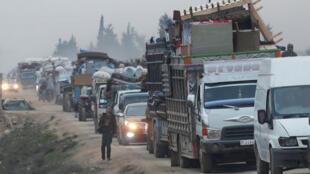 نازحون من إدلب