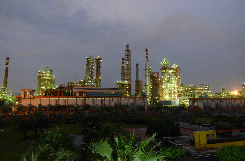raffinerie petrole inde