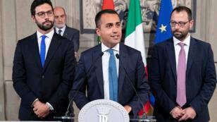 تشكيل الحكومة الايطالية
