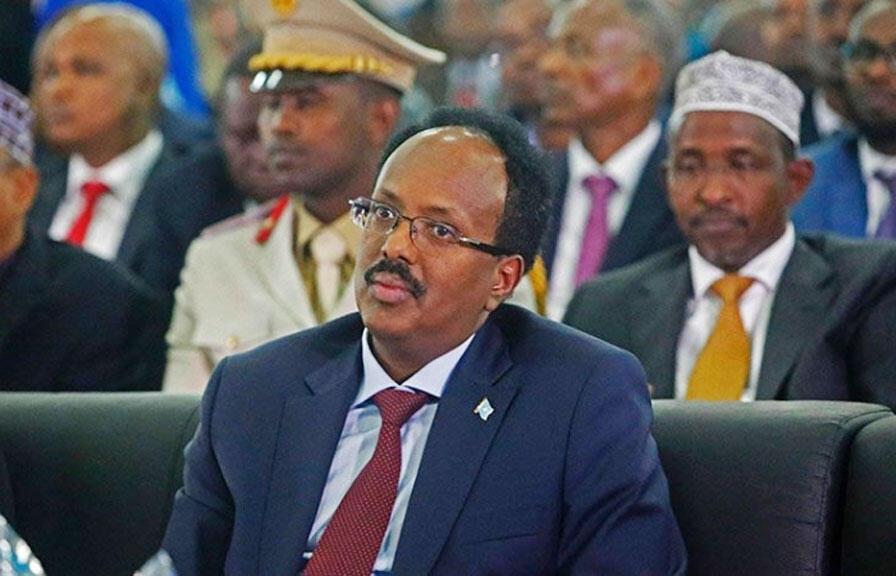 الرئيس الصومالي محمد عبد الله محمد فارماجو