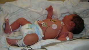 مولود جديد في المستشفى