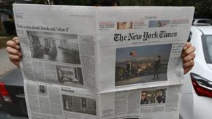 صحيفة نيويورك تايمز الأمريكية