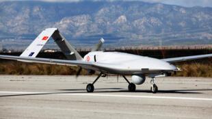 طائرة بدون طيار، مطار تركي شمال قبرص