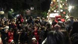 أعياد الميلاد  في بيروت (ديسمبر 2020)