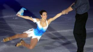 بطلة التزحلق على الجليد الفرنسية سارة أبيتبول