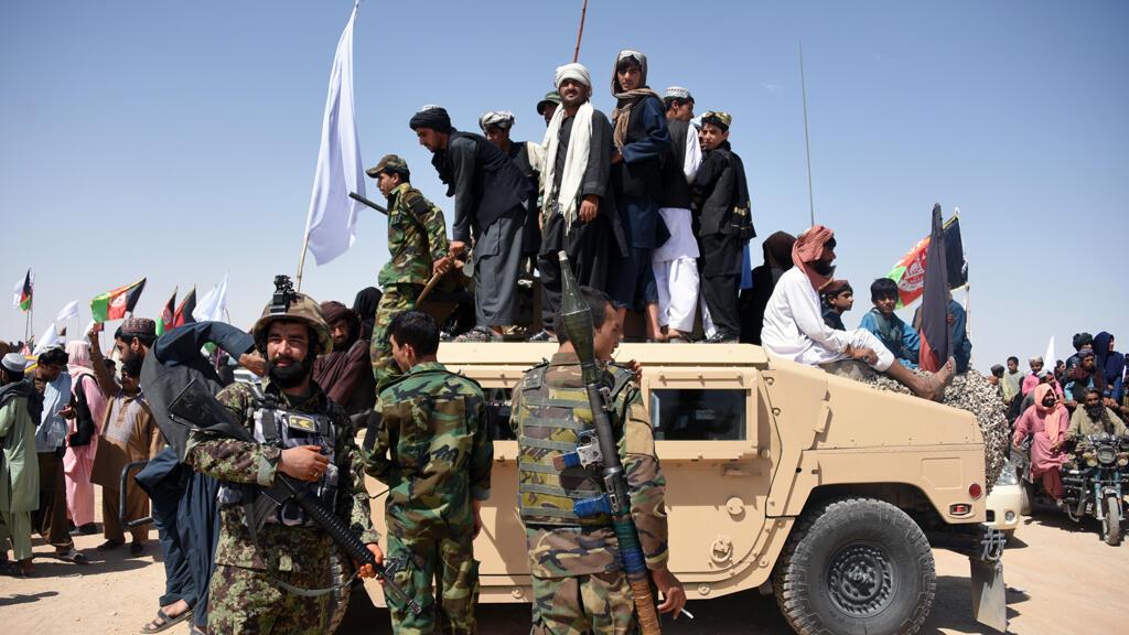 مقاتلون في حركة طالبان