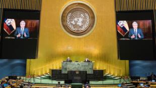 رئيس الإكوادور لينين مورينو في الأمم المتحدة