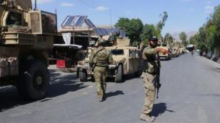عناصر من قوات الأمن الأفغانية