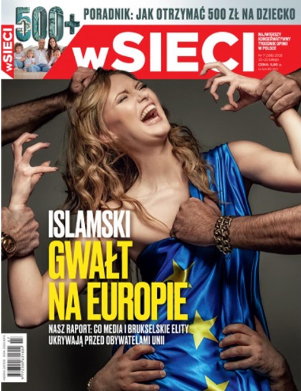 """""""الاغتصاب الإسلامي لأوروبا"""""""
