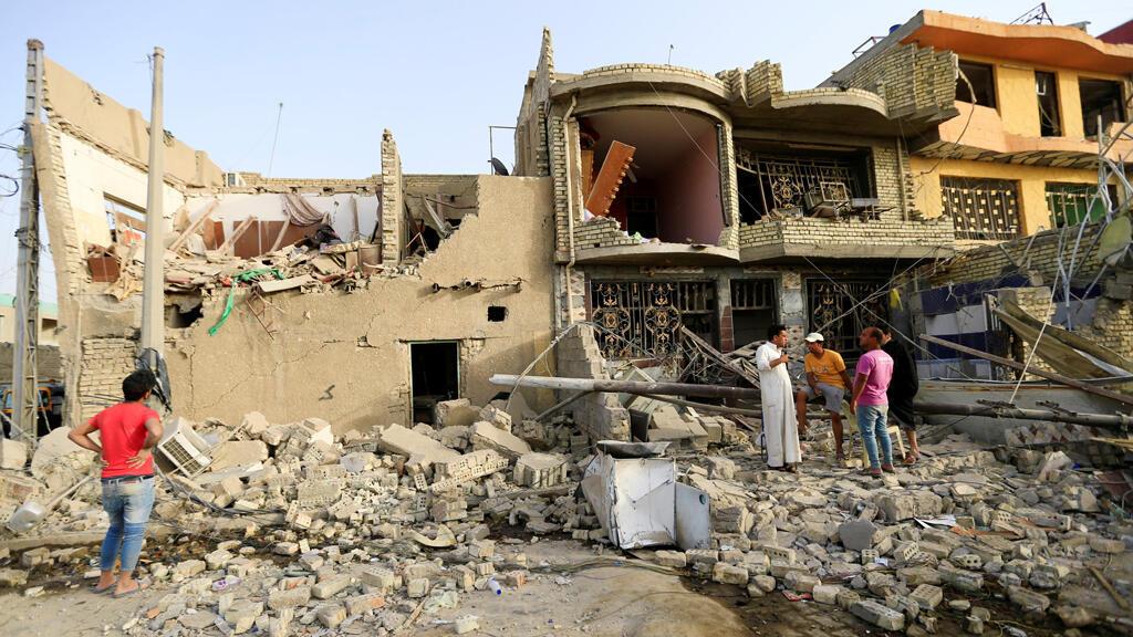 آثار الدمار في العراق