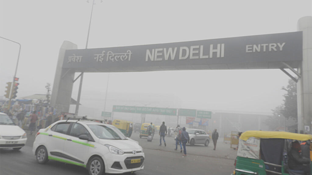 new-delhi pollution