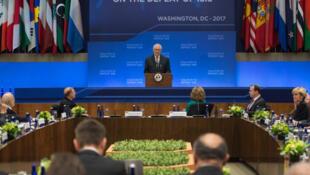 اجتماع دول التحالف الدولي