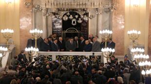 حفل افتتاح معبد الياهو هانبي اليهودي