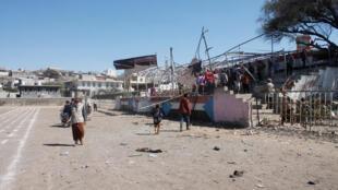 مكان الانفجار في اليمن