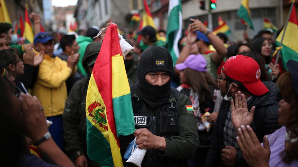 متظاهرون ضدّ الرئيس البوليفي