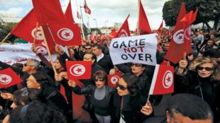تونس بعد تسع سنوات من الثورة-
