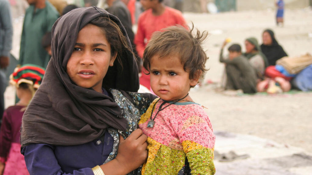 لاجئون أفغان في باكستان
