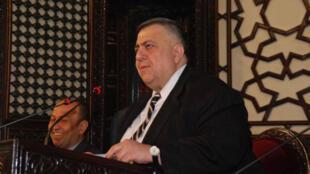 رئيس مجلس الشعب السوري حمودة صباغ