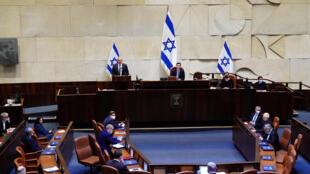 جلسة الثقة البرلمانية في إسرائيل