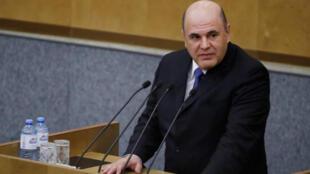 ميخائيل ميشوستين رئيس الوزراء الروسي الجديد