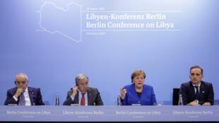 قمة برلين حول ليبيا