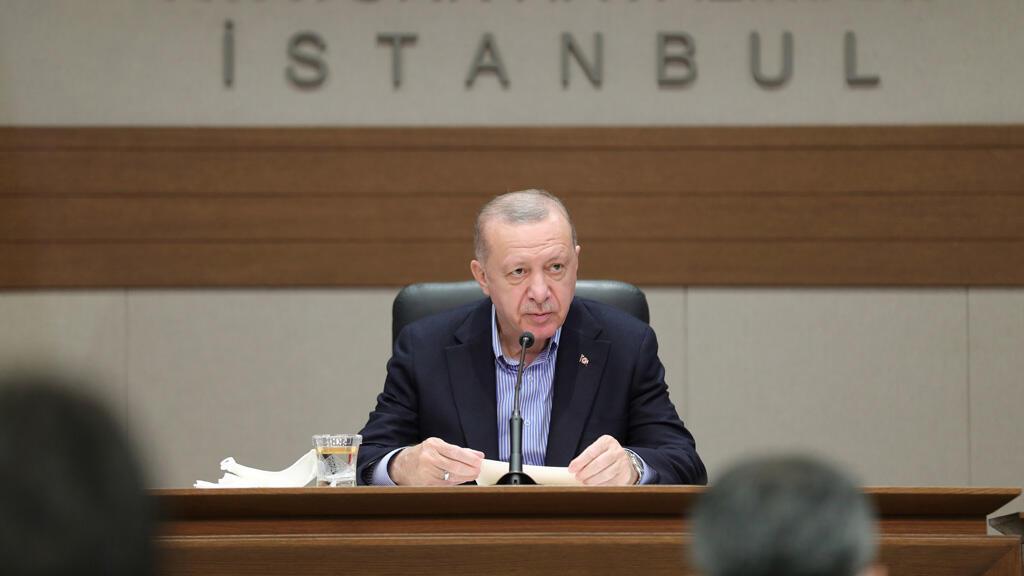 الرئيس التركي رجب طيب إردوغان في اسطنبول
