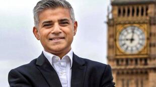 رئيس بلدية لندن صادق خان