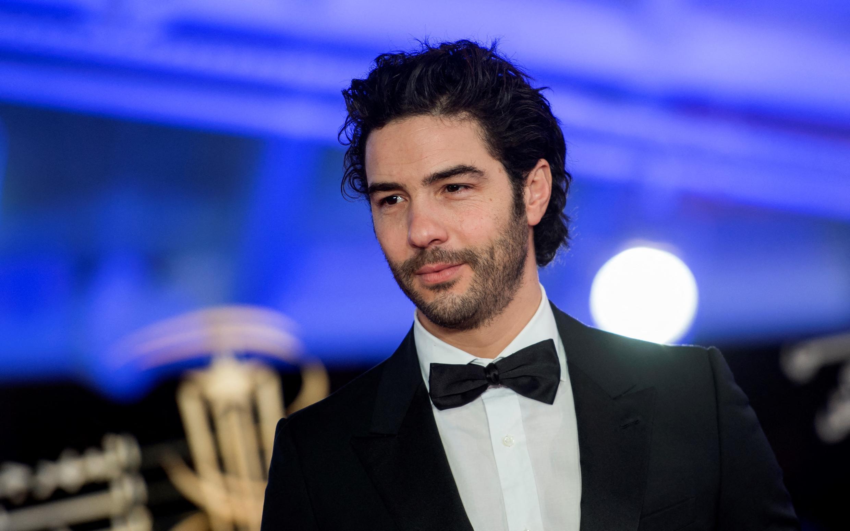 الممثل الفرنسي من أصل جزائري طاهر رحيم في مهرجان مراكش الدولي السابع عشر للسينما، المغرب، يوم 1 ديسمبر 2018.