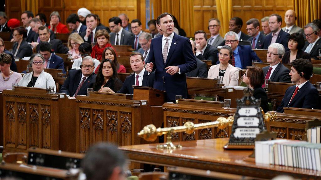 جانب من اجتماع للبرلمان الكندي