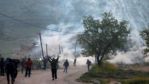 مواجهات بين فلسطينيين والجيش الاسرائيلي