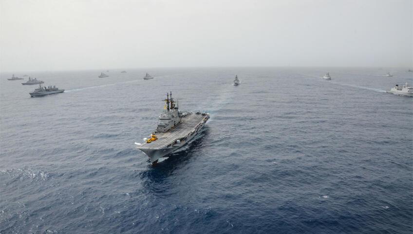 سفن عسكرية (صورة توضيحية)