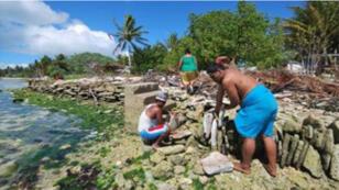 جزر الكاريباتي جنوب المحيط الهادئ