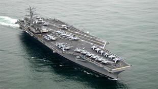 حاملة الطائرات الأمريكية يو إس إس نيميتز