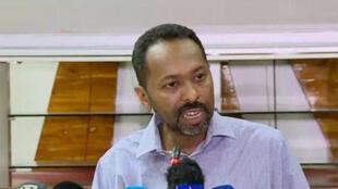 خالد عمر القيادي في قوى إعلان الحرية والتغيير في السودان