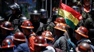 المظاهرات في بوليفيا
