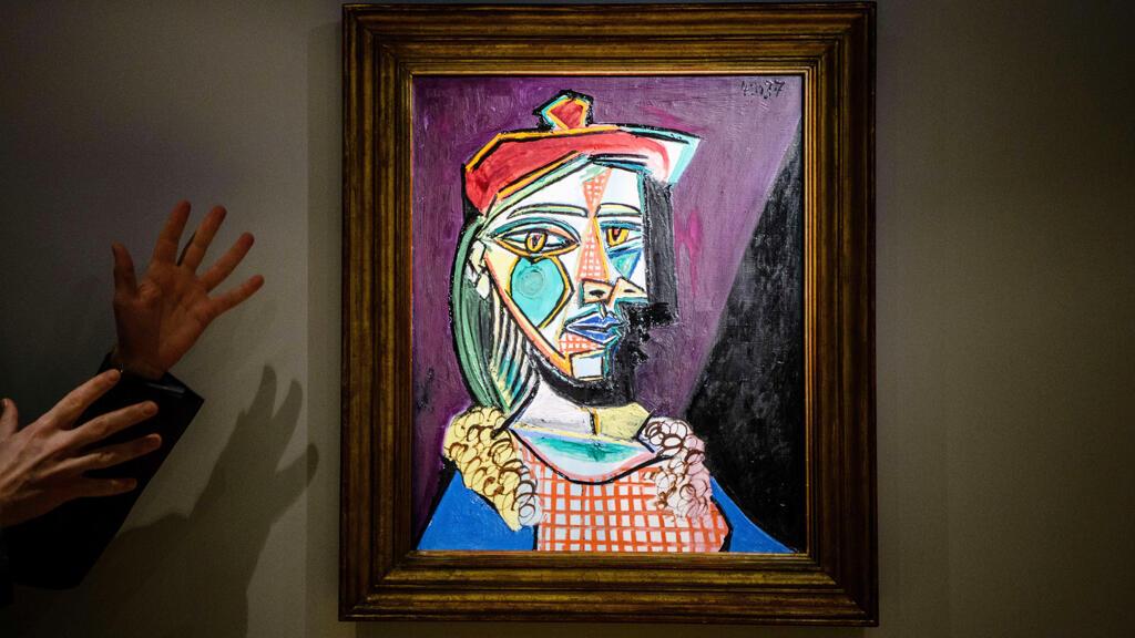 لوحة بابلو بيكاسو التي بيعت في مزاد كريستيز