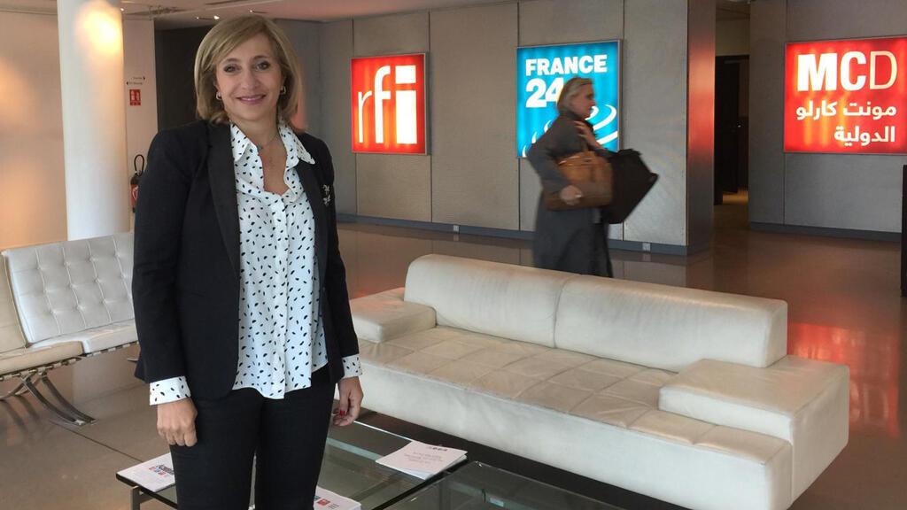 الدكتورة جمانة شهال تدمري (مبنى إذاعة مونت كارلو الدولية، باريس)