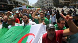 من مظاهرات الجزائر-