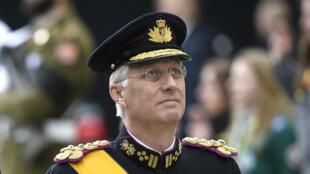 ملك بلجيكا فيليب في بروكسل عام 2019