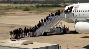تبادل للأسرى في مدينة سيئون اليمنية