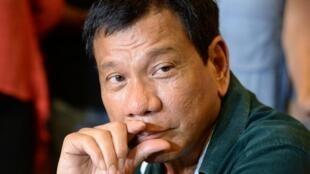 الرئيس الفيليبيني رودريغو دوتيرتي