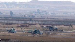 مطار الطبقة العسكري في شمال سوريا